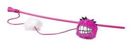 Rogz Catnip Fluffy Magic Stick Pink
