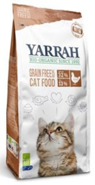 Yarrah Kat Organic Chicken & Fish - 2,4 kg.