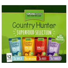 Natures Menu Dog Country Hunter Multipack 12x150g