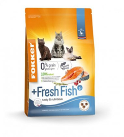 Fokker Cat Fresh Fish - 2,5 kg.