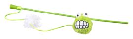 Rogz Catnip Fluffy Magic Stick Lime