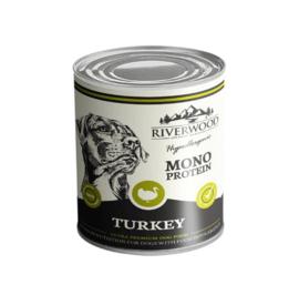 Riverwood natvoer Kalkoen mono proteïne 400 gr