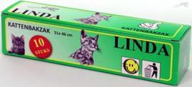Kattenbakzak Linda  Verpakking:10 st afm 51x46 cm
