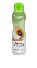 TropiClean Papaya & Coconut shampoo en conditioner 355 ml
