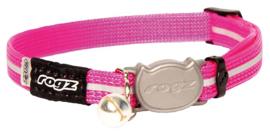 Rogz Alleycat Halsband Small Pink 11mm - 16,5-23cm
