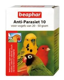 Anti Parasiet Vogels 10   2 pip