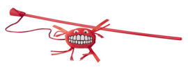 Rogz Catnip Flossy Magic Stick Red