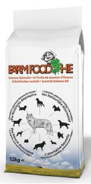 Dubbelpak! Farm Food  HE Schotse zalmolie 2x12 kg  Nu: inclusief Farm Food Fresh Menu pens en hart 125 gr