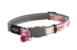 Rogz GlowCat Pink Butterflies - 11mm - 20-31 mm