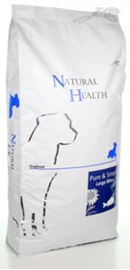 Natural Health Dog Fish & Rice Large Bite 12.5 kg