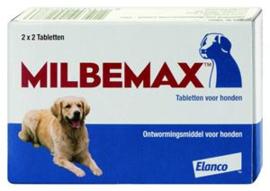 Milbemax Hond Groot 4 tabl.