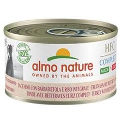 Almo Nature Dog HFC Complete Kalkoen Rijst Paardebloem 24 x 95 gr
