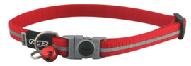Rogz AlleyCat Halsband Small Red 11mm - 16,5-23cm