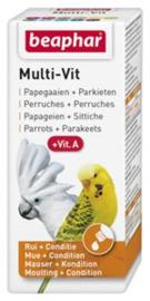 Multi-Vit Papegaaien en Parkieten  20 ml