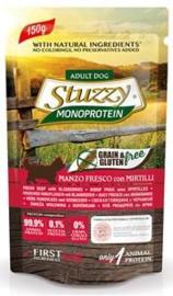 Stuzzy Dog Grain Free MoPr Beef & Blueberries 12 x 150 gr