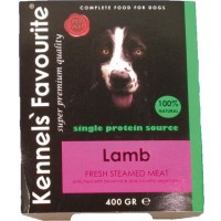 Kennels Favourite Steamed 10 x 395 gr - Lamb