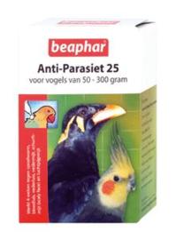 Anti Parasiet Vogels 25  2 pip