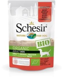 Schesir Dog Bio Beef 16 x 85 gr