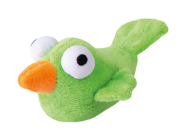 Rogz Catnip Plush Bird Lime