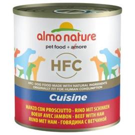 Almo Nature Dog Beef+Ham 12 x 290 gr