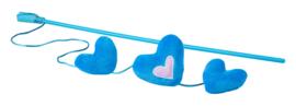 Rogz Catnip Hearts Magic Stick Blue