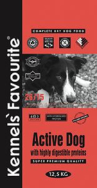 Kennels Favourite Active Dog - 12,5 kg.