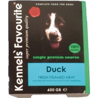 Kennels Favourite Steamed 10 x 395 gr - Duck