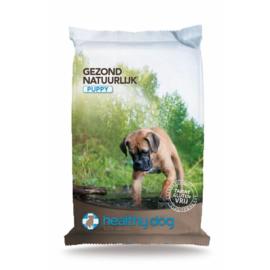 Healthy dog Puppy 15kg ( met transportschade )