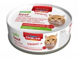 Smølke Kat - Soft Paté - Rund  24 x 80 gr