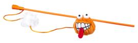 Rogz Catnip Fluffy Magic Stick Orange