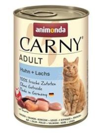 Carny Kip/Zalm 6 x 400 gr