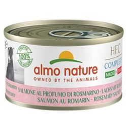 Almo Nature  Dog HFC Complete Zalm Millet Perzik Kruiden 24 x 95 gr