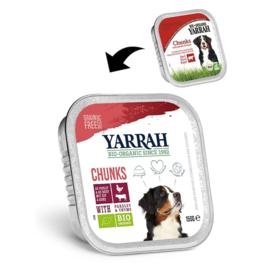 YARRAH - BIOLOGISCHE BROKJES IN SAUS 150 GR RUND ADULT per 12 stuks)