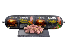 Profine Grain Free Salami worst Chicken & Vegetables 800 gram