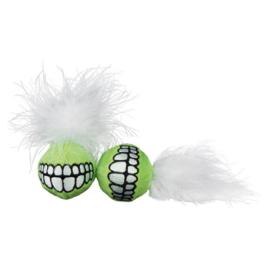 Catnip Grinz Ball Lime (2 stuks)