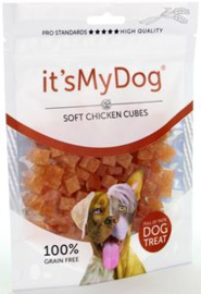 it's My Dog Chicken Soft Cubes 	85 gr