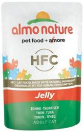 Almo Nature Tonijn in Jelly - 55 gr. (24 verp.)
