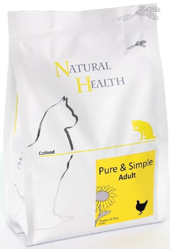 Natural Health kattenvoer Adult Kip 2,5 kg