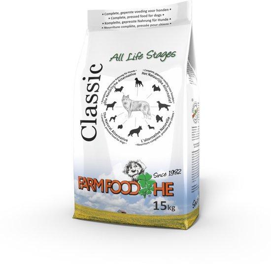 Dubbelpak! Farm Food HE Classic 2x 15 kg Nu: inclusief Farm Food Trainers!