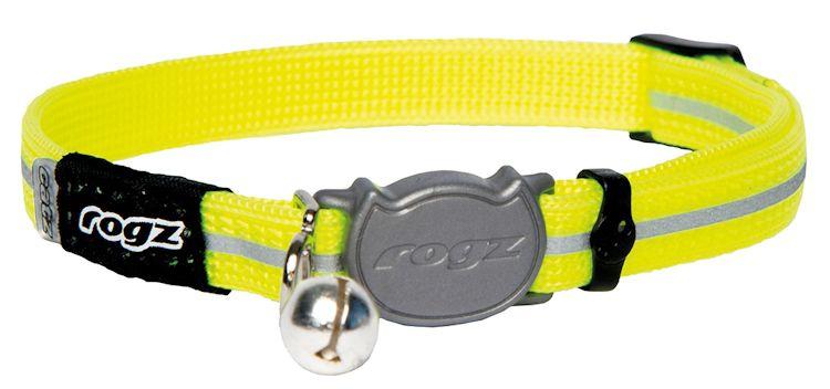 Rogz Alleycat Halsband Small Dayglo - - 11mm - 16,5-23cm