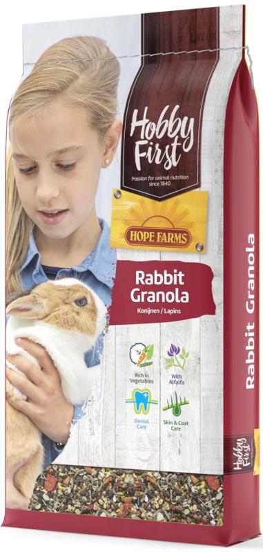 Hobbyfirst Hopefarms Rabbit Granola 10kg