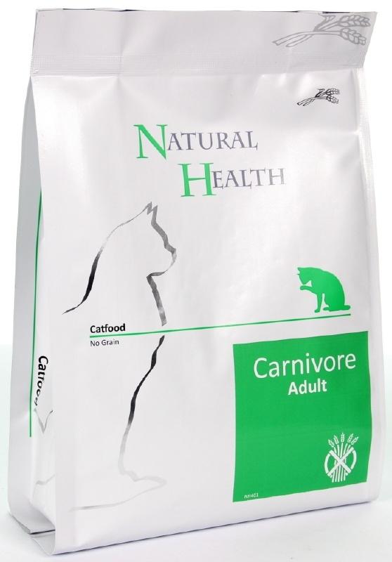 Natural Health graanvrij kattenvoer Adult Carnivore 2,5 kg