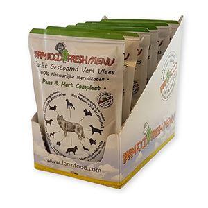 Farm Food Pouch Pens-Hart 6 x 300 gr