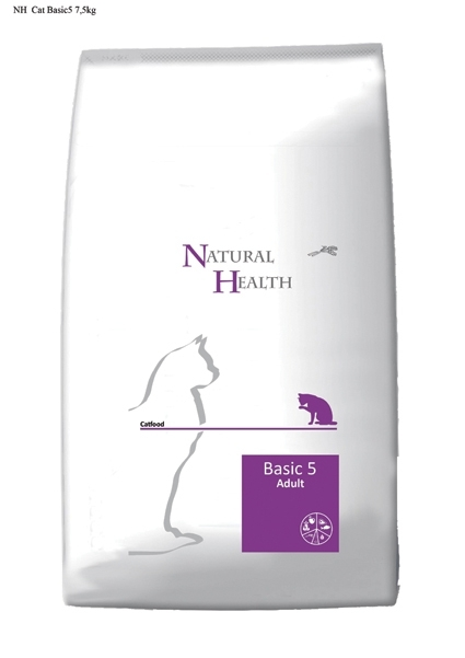 Natural Health kattenvoer Adult Basic 5 7,5 kg