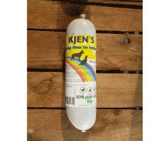 1st. Kjen's vleesworst kip 90% puur vlees 900g.