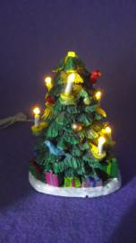 Kerstboom met lichtjes (Resin)(PP)