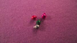 4 Kerstballen