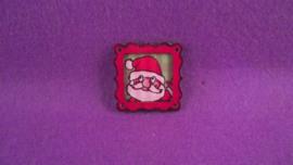 Schilderij kerstman