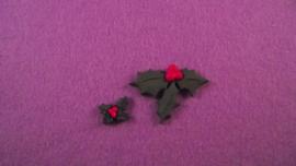 Decoratie kerstblad