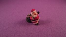 Beeldje Kerstman 2,5 cm